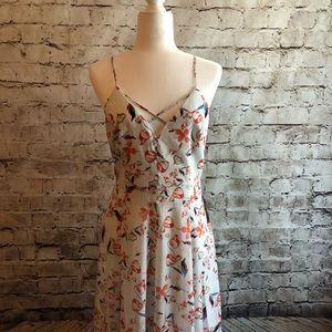 Adelyn Rae Tiffany Floral Fit & Flare Dress